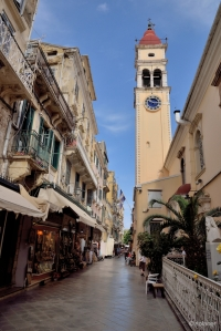 Glockenturm von Ekklisia Agios Spiridon